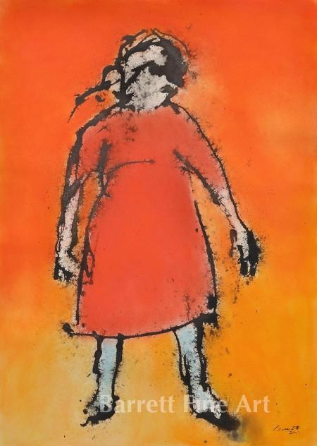 Girl in Red Dress (c)2011