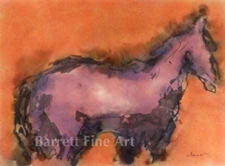 Purple horse (c)2006