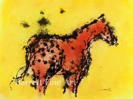 Spotted Horse (c)2012